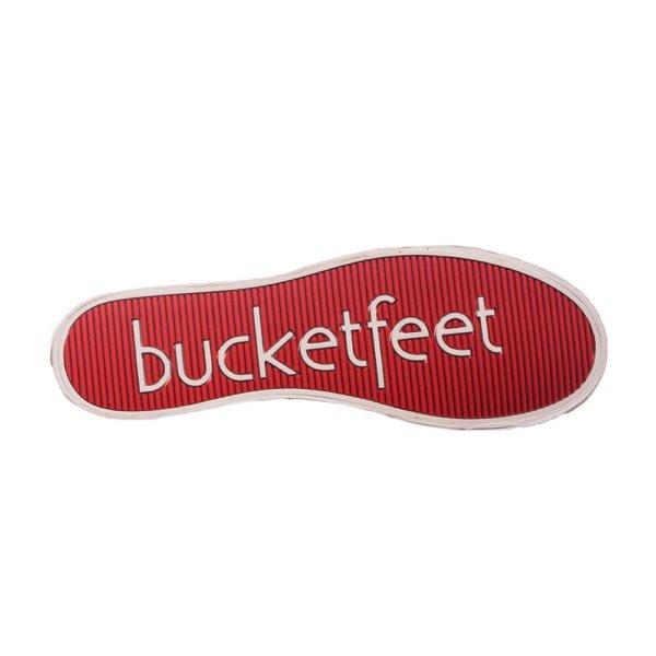 BUCKETFEET ΠΑΠΟΥΤΣΙ SLIP ON ΜΑΥΡΟ 10110-0102 ΑΝΑΝΑΣ