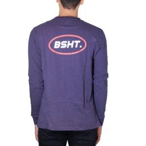 BASEHIT T-SHIRT ΜΑΚΡΥΜΑΝΙΚΟ ΜΩΒ 182.BM31.17