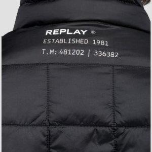 REPLAY JACKET ΜΑΥΡΟ M8006.000.83406.098