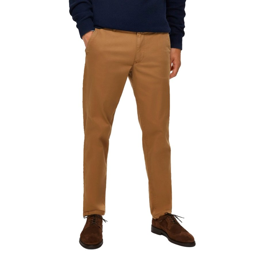 SELECTED ΠΑΝΤΕΛΟΝΙ CHINOS ΜΠΕΖ SLHSLIM-MILES 16074054