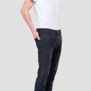 REPLAY JEAN ΠΑΝΤΕΛΟΝΙ ΜΑΥΡΟ ANBASS M914.661.E01.098 HYPERFLEX CLOUDS