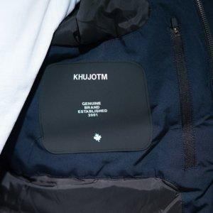 KHUJO JACKET ΜΠΛΕ ΣΚΟΥΡΟ RUDOLF 2008JK203-407MNBLUE