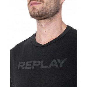 REPLAY T-SHIRT ΜΑΥΡΟ M3488.000.23178G.998