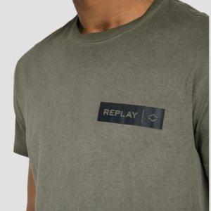 REPLAY T-SHIRT ΧΑΚΙ M3448.000.22658F.851