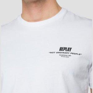 REPLAY T-SHIRT ΛΕΥΚΟ M3458.000.22980P.001
